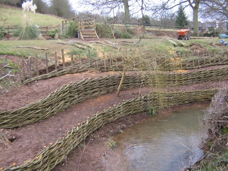 Willow Spilling Coppice Products