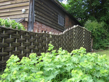 Continuous Fencing Coppice Products